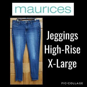 Maurices High-Rise Jeggings Size X-Large
